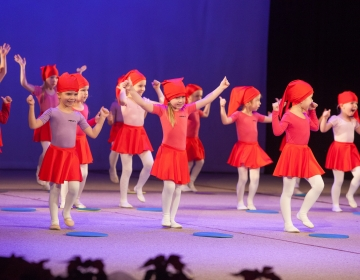 Pirueti Jõulukontsert Salmes Kultuurikeskuses 2014