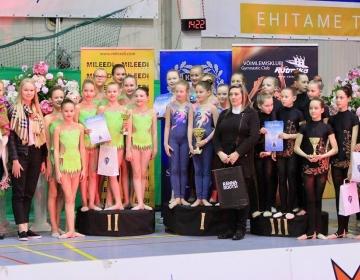 ESS Kalev lahtised meistrivõistlused rühmvõimlemises 2017