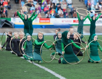 Tallinna Võimlemispidu Velotrekil 2015