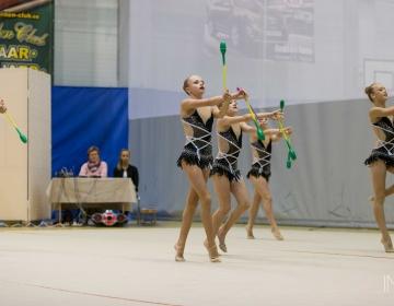 Eesti MV iluvõimlemise rühmkavades 2015