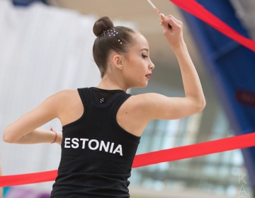 Eesti MV 2017 iluvõimlemise rühmkavades