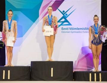 Eesti Meistrivõistlused ilu- ja rühmvõimlemises 2018