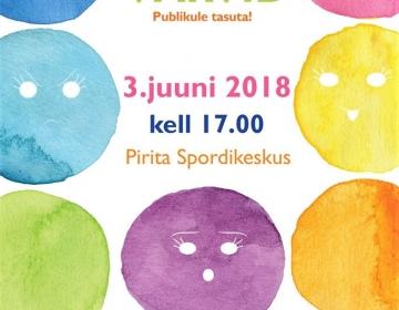 """Tallinna Võimlemispidu 2018 """"Need värvid"""""""
