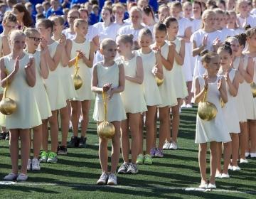 Tallinna XVI Võimlemispidu 1.juunil 2014