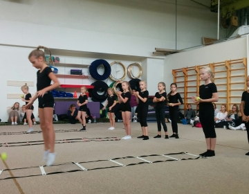 Harrastusvõimlemise koolitus 2018