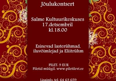 VÕIMLEMISKLUBI PIRUETT JÕULUKONTSERT (lisatud Salme kontserdi video)