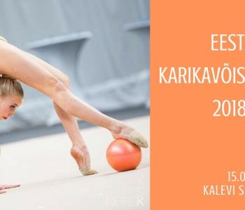 Eesti KV iluvõimlemises 2018
