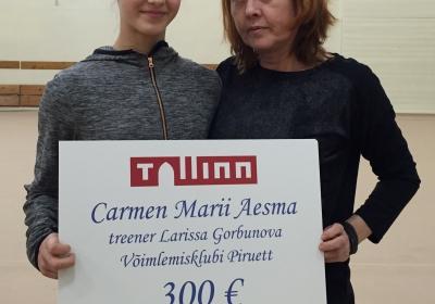 Tallinna tunnustus meie noorsportlasele