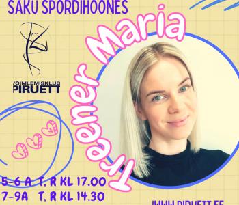Treener Maria trennid SAKUS