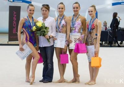 Selgusid Eesti meistrid ilu- ja rühmvõimlemises