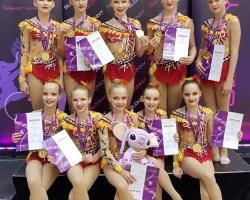 Slonny Cup'lt tõid Piruetikad rohkelt medaleid!