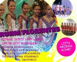 rühm Florentes võtab juurde uusi tüdrukuid
