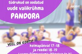 Rühm Pandora - 2014-2016 sünniaastaga tüdrukud